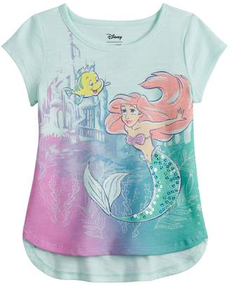 Disneyjumping Beans Disney's The Little Mermaid Ariel Toddler Girl Sequin Graphic Tee by Jumping Beans