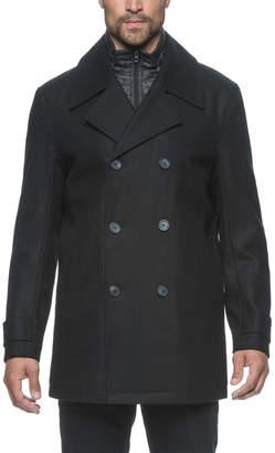 Andrew Marc Cushing Wool-Blend Coat