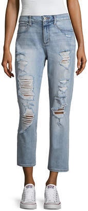 Arizona Vintage High Rise Jeans-Juniors