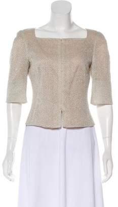 Akris Silk Cropped Blazer