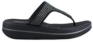 Skechers Women's Upgrades Stones Flip Flop