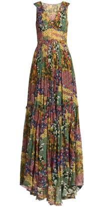 Missoni Floral-print silk dress