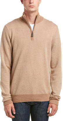 Phenix 1/4-Zip Cashmere Pullover