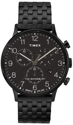 Timex R) Waterbury Chronograph Bracelet Watch, 40mm