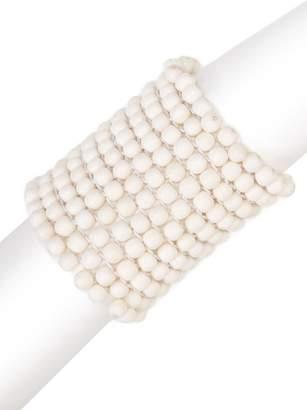 Josie Natori Bone Small Beaded Bracelet