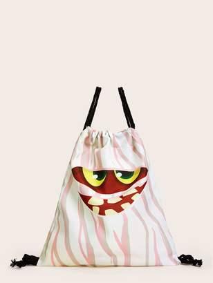 Shein Halloween Ghost Design Backpack