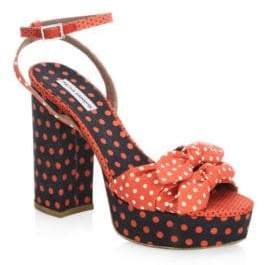 Tabitha Simmons Jodie Polka Dot Sandals