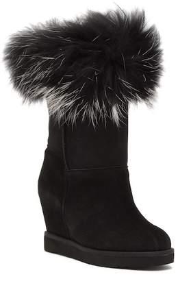 Australia Luxe Collective Foxy Genuine Sheep Fur & Sheepskin Wedge Boots