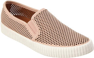 Frye Camille Perforated Suede Sneaker