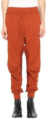 Haider Ackermann Rust Moonshape Cotton Sweatpants