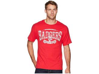 Ringspun Champion College Wisconsin Badgers Tee Men's T Shirt