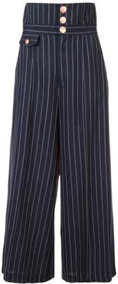 Marissa Webb pinstripe culottes
