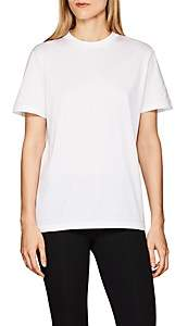 Prada Women's Logo-Back Cotton T-Shirt - White