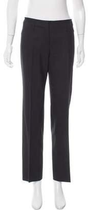 Prada Mid-Rise Wool Pants