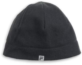 Fila Sport Women's SPORT Lightweight Fleece Beanie with Ponytail Slit