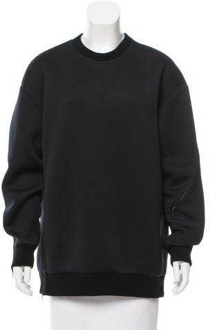 3.1 Phillip Lim 3.1 Phillip Lim Neoprene Crew Neck Sweatshirt