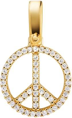 Michael Kors Crystal Pave Peace Charm