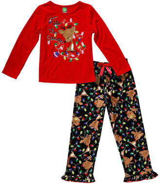 Sweet Heart Rose Kahn Lucas Girls' Sweet Heart Pajama Set