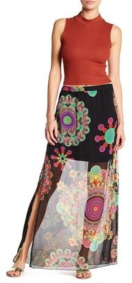 Desigual Viky Maxi Skirt $114 thestylecure.com