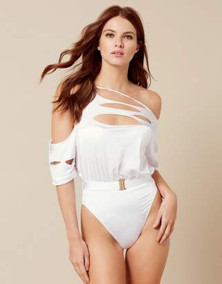 Agent Provocateur Cadie Swimsuit White