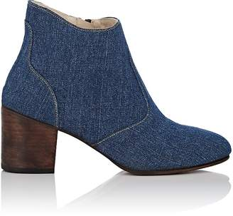 Esquivel WOMEN'S JILL WASHED DENIM ANKLE BOOTS