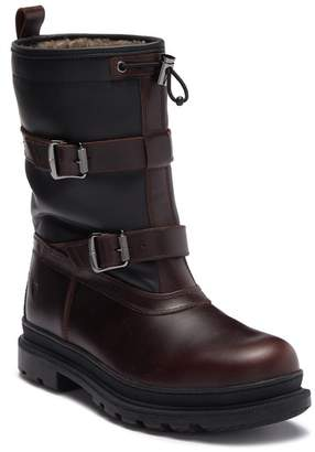 Frye Riley Trek Waterproof Genuine Shearling Boot