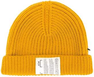 A-Cold-Wall* ribbed beanie