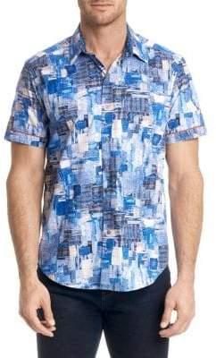 Robert Graham Canberra Cotton Button-Down Shirt