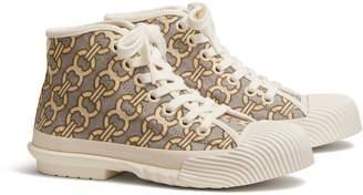 Buddy Jacquard High-Top Sneaker