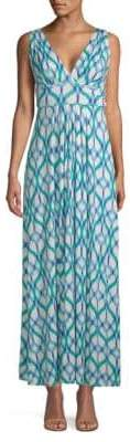 Tart Belfort Geometric-Print Dress