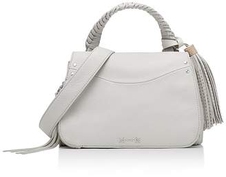 Elizabeth and James Trapeze Small Leather Crossbody $495 thestylecure.com