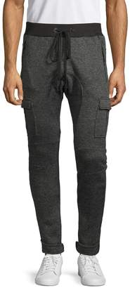 American Stitch Heathered French Terry Cargo Pants