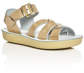 Salt Water Sandals Girls' Sun San Metallic Swimmer Sandals - Walker, Toddler