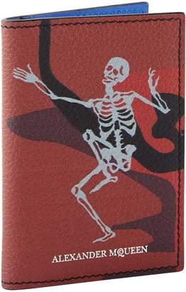 Alexander McQueen Dancing Skeleton Trifold Wallet