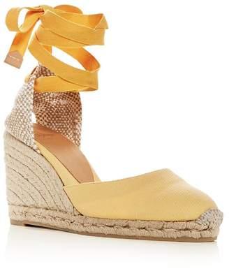 2f554d11af81 Castaner Women s Ankle-Tie Wedge Platform Espadrille Sandals
