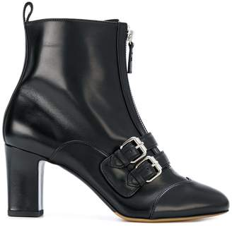 Tabitha Simmons pointed toe zip boots