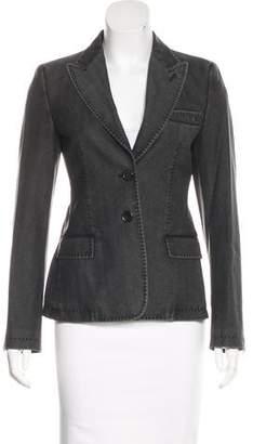 Strenesse Wool Button-Up Blazer