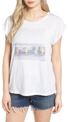 Women's Rip Curl The Lineup Graphic Tee $29.50 thestylecure.com