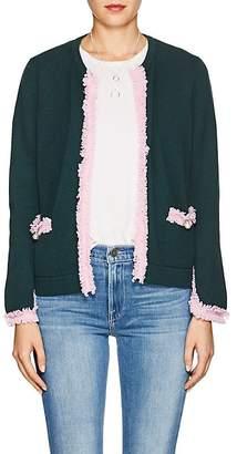Barneys New York Women's Fringed Cashmere Cardigan