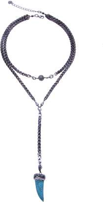 Nakamol Design Dual Layer Chunk Chain Y-Necklace