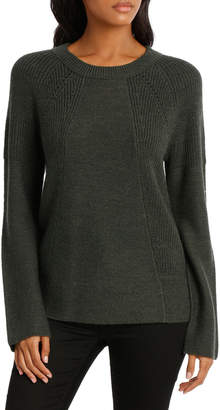 Sweater Pointelle Detail