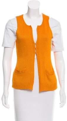 Donna Karan Silk Knit Vest