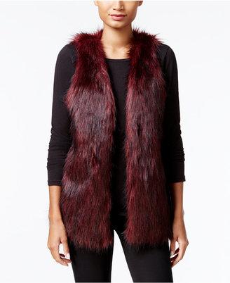 kensie Faux-Fur Vest $119 thestylecure.com