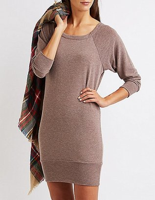 Raglan Sweatshirt Dress $26.99 thestylecure.com