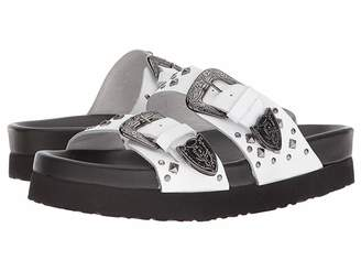 The Kooples Leather Sandal with Studs Women's Sandals