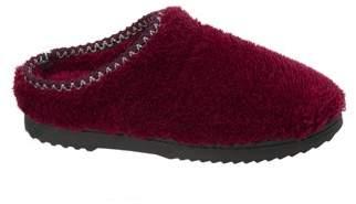 Dearfoams Women's Clog with Woven Trim Slippers
