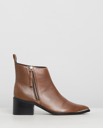One Teaspoon Leather Monica Boots