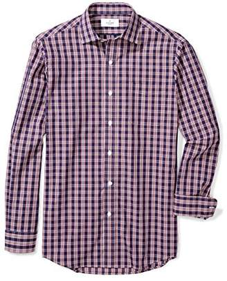 Buttoned Down Men's Classic Fit Spread-Collar Supima Cotton Sport Shirt