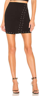 by the way. Kendra Studded Mini Skirt