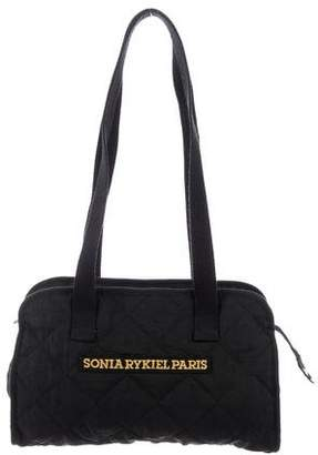 Sonia Rykiel Quilted Logo Tote